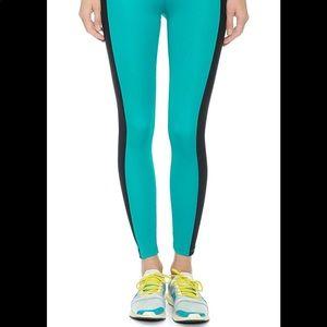 Koral Activewear Duo Aqua & Black Cropped Pants